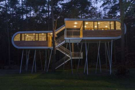 Two-Level Treehouses