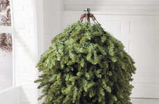 Reversible Festivity Foliage - The Grand Fir Flip Tree is a Cool Holiday Christmas Tree