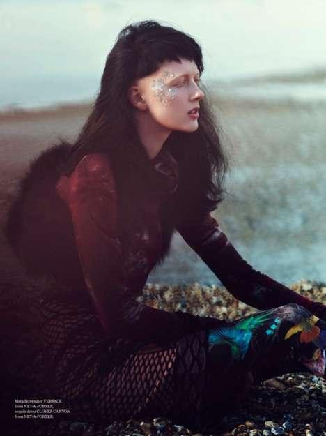 Free-Spirited Seaside Photoshoots