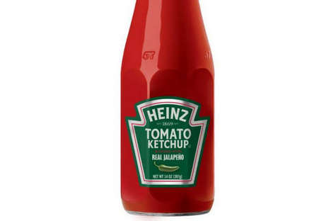 Spicy Tomato Condiments - The Heinz Jalapeno Ketchup Will Add a Tasty Fire to Your Holiday Dishes