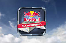 Interactive Sporting Spot Guides - Red Bull Playgrounds is the App for the Sports Culture Enthusiast