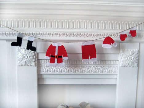 Santa Laundry Lines