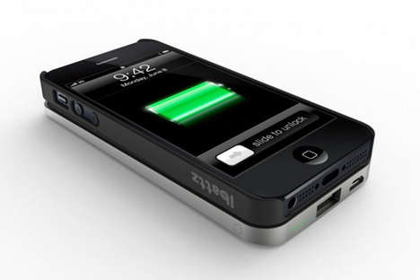 iBattz Gives Users Extra Power with the iPhone 5 Battery Case
