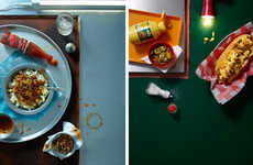 Messy Meal Photography - Ania Wawrzkowicz Captures Exquisite Culinary Images