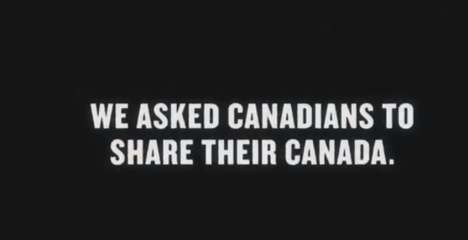 Crowdsourced Tourism Commercials - The Canadian Tourism Commission Uses Home Video Footage in Ad