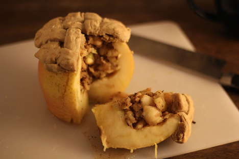 Literal Baked Apple Pastries - This Revamped Apple Pie Recipe Spices Up Your Holidays