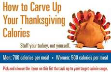 Holiday Calorie-Counting Infographics