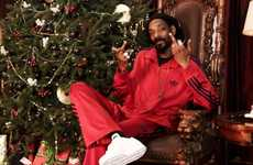 Bitter Celeb Christmas Advertisements - The Adidas Holiday 2012 Campaign Boasts Beckham & Snoop Dogg