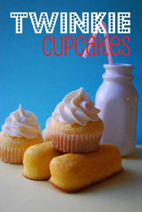 Iconic Extinct Snack Cupcakes