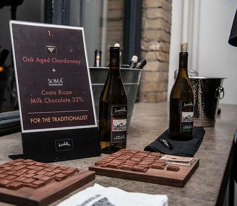 Wine & Chocolate Pairings - Inniskillin Teams Up with SOMA Chocolatiers for a Tasty Partnership