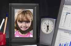 Face-Altering Photo Frames - The Fuzzy Magnetic Picture Frame Changes Up Your Style
