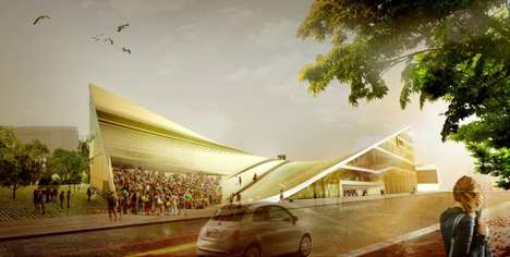 Roof-Walkway Cultural Centers