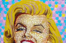 Sweet Celeb Candy Portraits - These Celebrity Portraits Are Made with Over 5,000 Candy Pieces