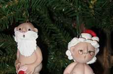 Exposed Holiday Couple Decor