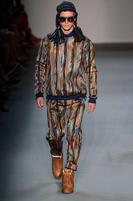 Ethnically Printed Menswear