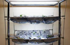 Modular Miniature Urban Farms - SeedPod by Jennifer Broutin Brings Sustainable Food to Small Spaces