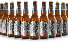 Boozy Rock Band Beverages - KISS Beer Blends Rockstar Swagger with Easy Drinking Taste