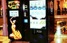 Luxury Vending Machines - Beverly Hills Caviar Releases Lavish Food