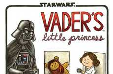 Sci-Fi Fatherly Spoofs - Darth Vader's Little Princess Depicts the Sith Lord as a Playful Parent
