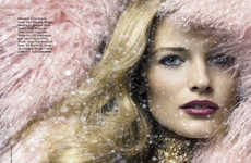 Snow Bunny Beauty Editorials