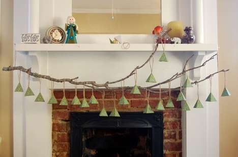 Branchy Christmas Countdown Decor