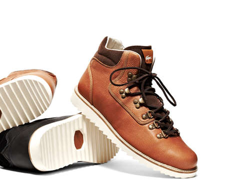 Luxe Smooth Leather Hikers