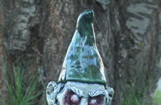 Undead Garden Decor - The Zombie Lawn Gnome is Terrifying Addition to One's Garden