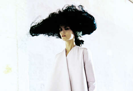 Hazy Backstage Couture Photoshoots