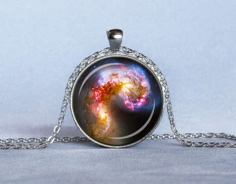 The Astronomy Necklace is a Lovely Gift for the Star Gazer in Your Life