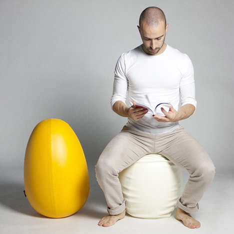 Egg-Shaped Seats
