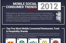 Mobile Consumer Engagement Infographics