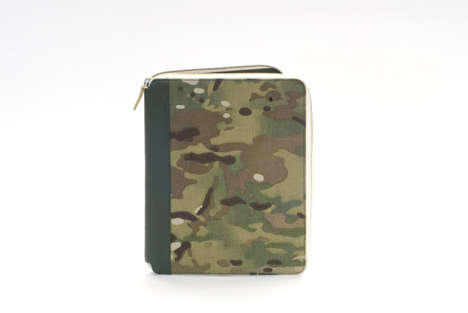Army-Inspired Camouflage Bags