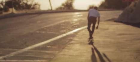 Somber Skateboarder Interviews