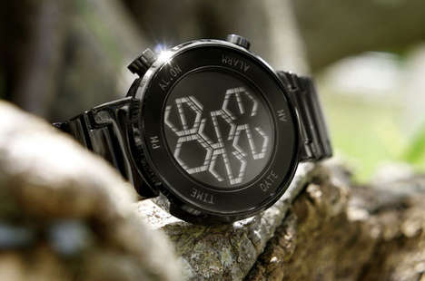 Cryptic Hexagon Watches