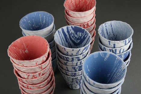 Spouting Ceramic Installations
