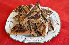 Crunchy Cocoa-Chipped Confections - Tasty Chocolate Chip Cookie Brittle Reinvents the Cocoa Pastry