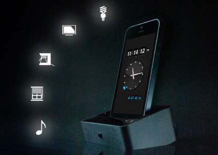 Intelligent Smartphone Docks - The Lumawake iPhone Dock Reacts to Your Movements