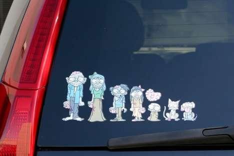 Creepy Undead Family Photos