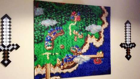Retro Gamer Bead Murals