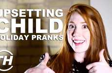 Upsetting Child Holiday Pranks - Olivia Gissing Unveils the Results of Terrible Christmas Gifts