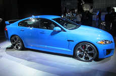 Lightning-Fast Sports Cars - The Jaguar XFRS Sedan Goes Zero to Sixty in 4.4 Seconds