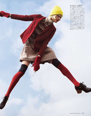 Mid-Air Acrobatic Editorials