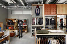 Rest-Focused Retailers - The Takeo Kikuchi Flagship Store Focuses on Customer Comfort