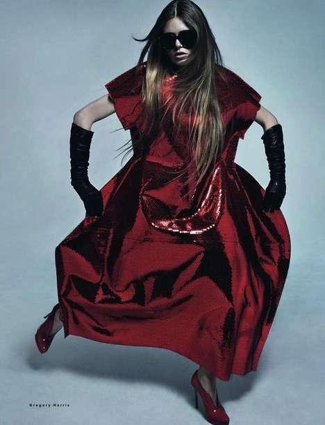 Combative Couture Editorials