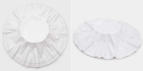 Faux Fabric Dishware
