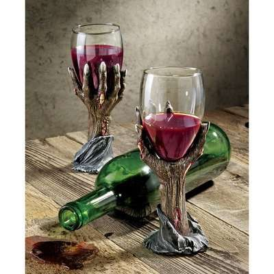 Undead Wine Glasses