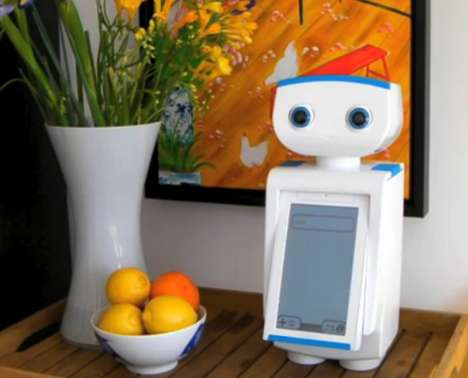 Motivational Fitness Robots - This Personal Trainer Robot Named Autom Encourages Healthy Habits