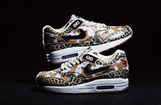 Army Animal Print Sneakers - Atmos Realeases Nike Air Max 1 Animal Camo Pack Spring Collection