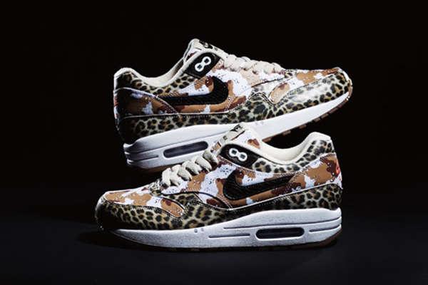 Army Animal Print Sneakers : Nike Air