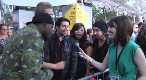 Meme-Mocking Interviews - 'Overly Attached Girlfriend' Meme Laina Walker Interviews at the AMAs